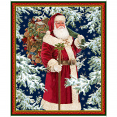 Christmas Eve - Vintage Santa Multi Panel