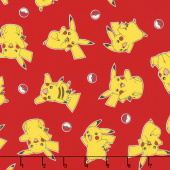 Pokemon - Pikachu Red Yardage