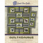 Quiltasaurus Pattern with Embroidery CD