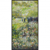 Renoir - Flowers Garden Digitally Printed Panel