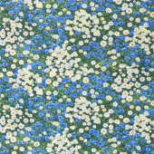 Novelty - Daisies and Cornflowers Multi Yardage