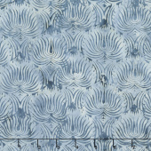 London Fog Batiks - Fountain French Blue Yardage