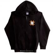 Missouri Star Logo 3XL Zip Sweatshirt - Black