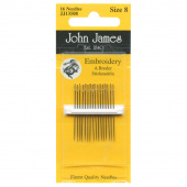 Embroidery / Crewel Needles - Size 8 (16 ct)