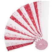 """Scarlet Romance 2.5"""" Strips"""