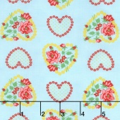 Love & Friendship - Roseheart Sky Yardage