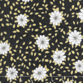Honey Run - Vines Black Yardage