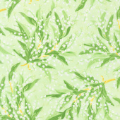 Greenery - Lily of the Valley Green Yardage