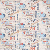 Game Time - American Pastime Light Blue Yardage