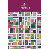 Modern T Quilt Pattern by Missouri Star