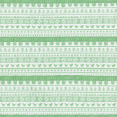 Warm Wishes - Sweater Stripe Green Yardage