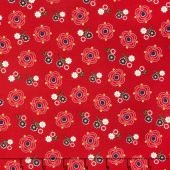 Gingham Girls - Gingham Main Red Yardage
