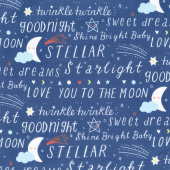 Stellar Baby - Sweet Dreams Nightfall Yardage