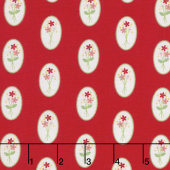 Vintage Adventure - Cameo Red Yardage