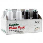Maderira Aerolock Serger Thread Value Pack - 8 Spools