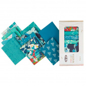 Color Master Fat Quarter Box - Teal Thoughts Edition