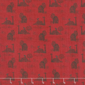 Farmall - Farmall Toile Red Yardage