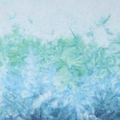 Mirror Ombre Batiks - Mirror Gradient Aqua Yardage