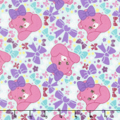 Care Bears - Sparkle & Shine Pretty Bow in Blue Yardage