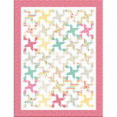 Missouri Star Bloom Where You're Planted 2 for 1 Pinwheel Stars Kit