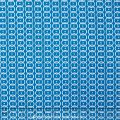 Our World - World Rings Blue Yardage