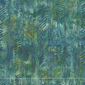 Splendor Batiks - Herringbone Emerald Yardage