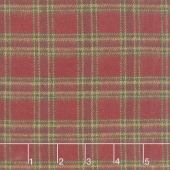 Primo Plaids - Lumber Jacks Tartan Red Flannel Yardage