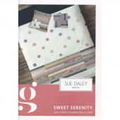 Sue Daley Sweet Serenity Pattern with Template and Papers