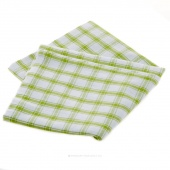 Tea Towel - Lime Green Picnic Plaid