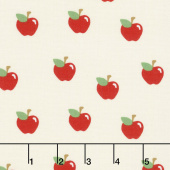 What do the Animals Say? - Apples Ivory Yardage