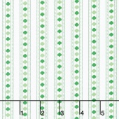 Girl Scouts - Girl Scout Stripe Green Yardage