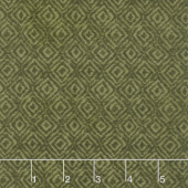 Woolies Heritage Flannel - On Point Green Yardage