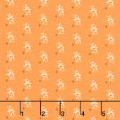 All Hallow's Eve - Pumpkin Blooms Pumpkin Yardage