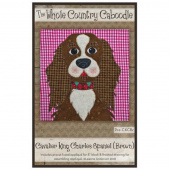 Cavalier King Charles Spaniel Brown Precut Fused Appliqué Pack