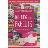 Quilting with Precuts - Handy Pocket Guide