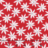 Cherry Twist - Daisy Dot Cherry Yardage
