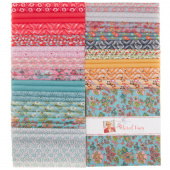"Floral Hues Cotton Lawn 10"" Stackers"