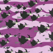 Haunted House - Witch Purple Yardage