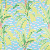 Kaffe Fassett Collective - February 2021 Cool Banana Tree Green Yardage