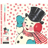 Sweet Christmas - Snowman Appliqué Digitally Printed Panel