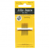 GoldnGlide Quilting Needles - Size 9 (10 ct)