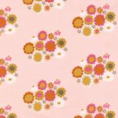 Guinevere - Flower Pink Yardage