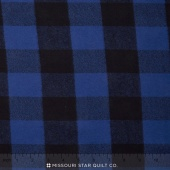 Mammoth Flannel - Plaid Blue Yardage