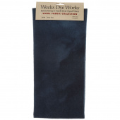 Weeks Dye Works Hand Over Dyed Wool Fat Quarter - Solid Deep Sea