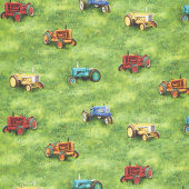 Down on the Farm - Tractors Country Yardage