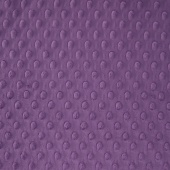 "Cuddle Embossed Dimple - Violet 60"" Minky Yardage"