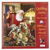 Quilting Santa Puzzle