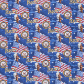 Thank You for Your Service - Military Flags Navy Yardage