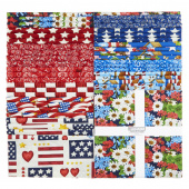 "America The Beautiful Favorites 10"" Squares"