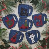 Merry Mugs Ornament Kit